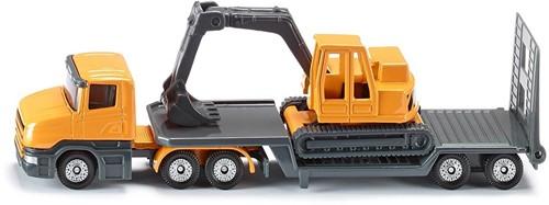 Siku Low loader with excavator