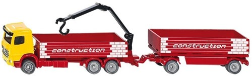 Siku Truck for construction material with trailer