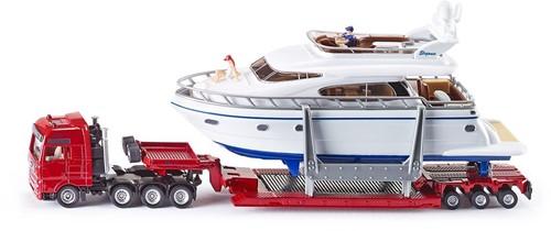 Siku Heavy Haulage Transporter with yacht