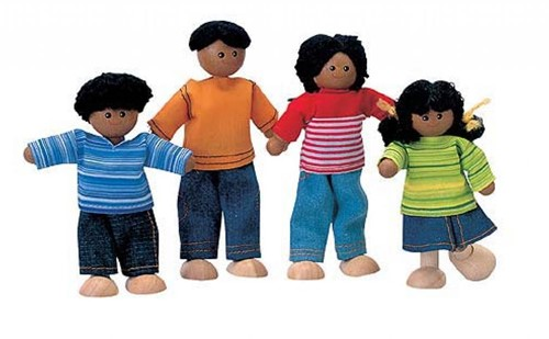 Plan Toys Ethnic family