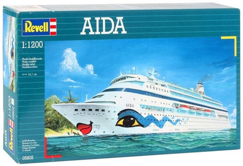 Revell AIDA 1:1200 Passenger ship Assembly kit