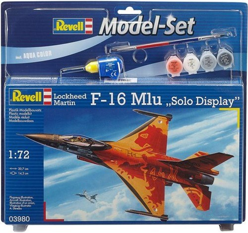 Revell F-16 Mlu 1:72 Assembly kit Fixed-wing aircraft