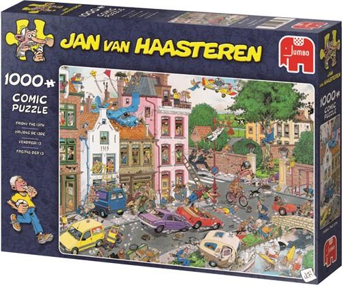 Jan van Haasteren Friday the 13th 1000 pcs Jigsaw puzzle