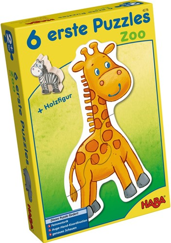 HABA 6 Little Hand Puzzles - Zoo