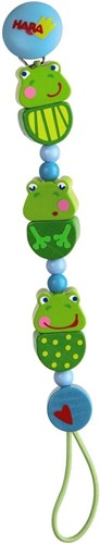 HABA Pacifier chain Frog Concert