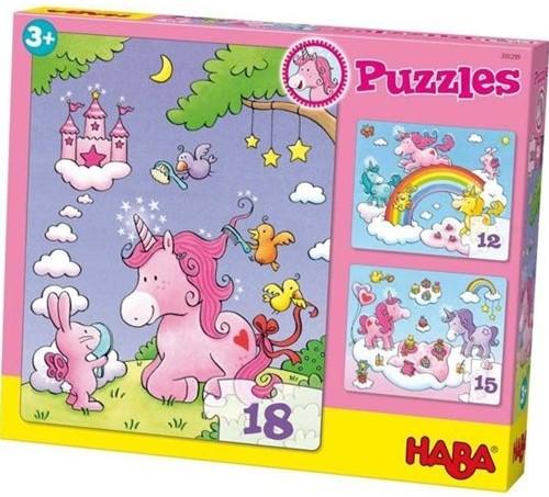 HABA Puzzles Unicorn Glitterluck