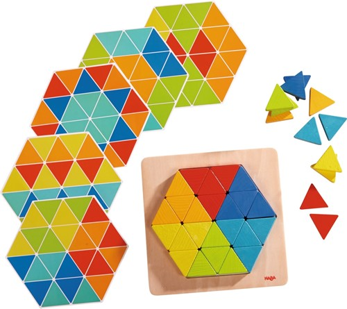 HABA Arranging game Magical Pyramids