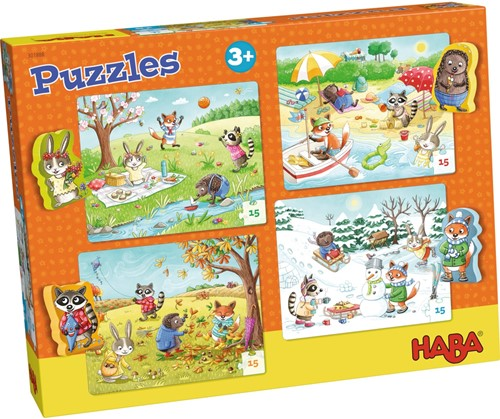 HABA 301888 puzzle Jigsaw puzzle 15 pc(s)