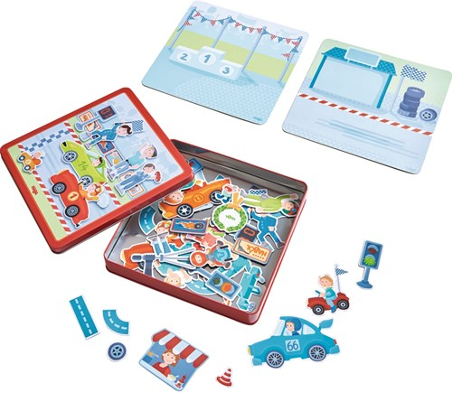 HABA Magnetic game box Zippy Cars