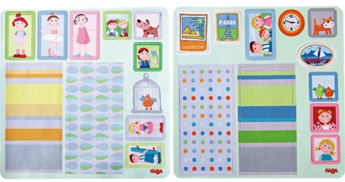 HABA Little Friends - Dollhouse Decor Decals