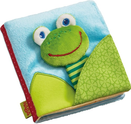 HABA Fabric book Magic frog