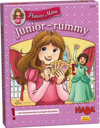 HABA PROMO - Card game - Princess Mina - Junior-rummy (Dutch)