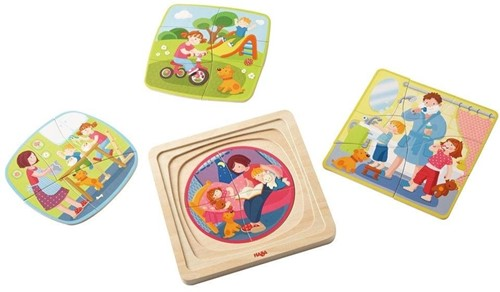 HABA Wooden puzzle My day