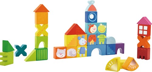 HABA Building blocks Cat, mouse & friends