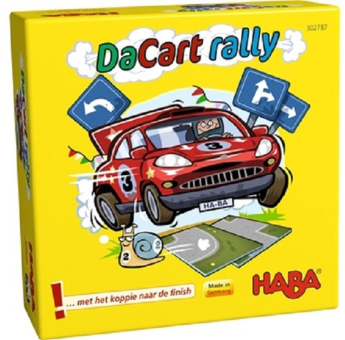 HABA PROMO - Supermini Spel - DaCart rally (Nederlands)