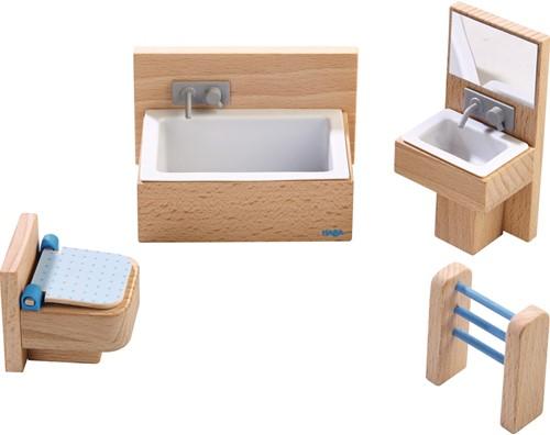 HABA Little Friends - Dollhouse Furniture Bathroom