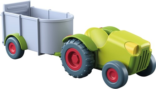 HABA Little Friends - Tractor and trailer