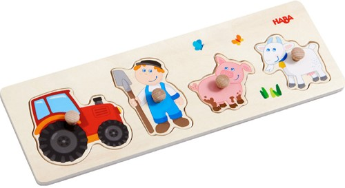 HABA Clutching puzzle Country living