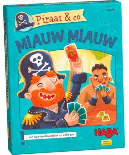 HABA PROMO - Kaartspel - Piraat & co - Miauw miauw (Nederlands)