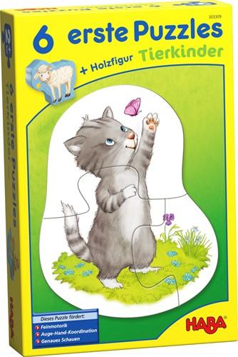 HABA 6 Little Hand Puzzles - Animal Kids