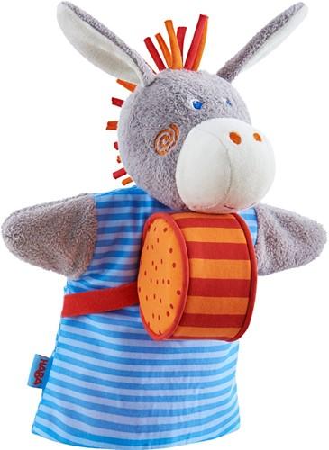 HABA Sound hand puppet Donkey