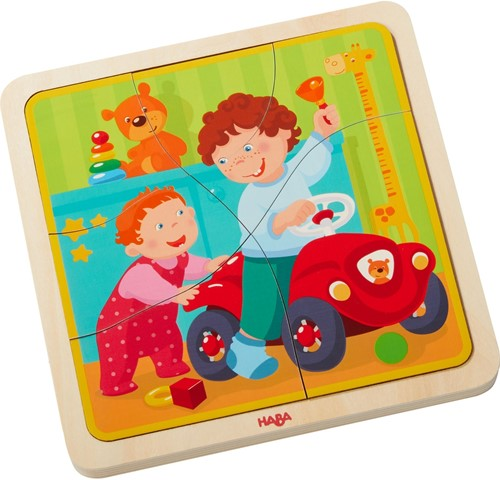 HABA Wooden puzzle My life