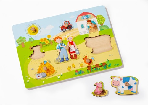 HABA Clutching puzzle On the farm