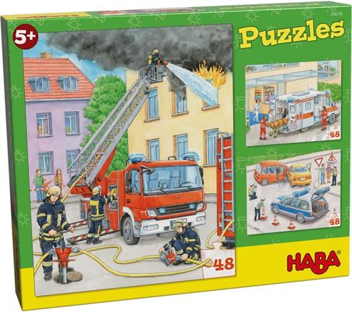 HABA Puzzles Emergency Vehicles