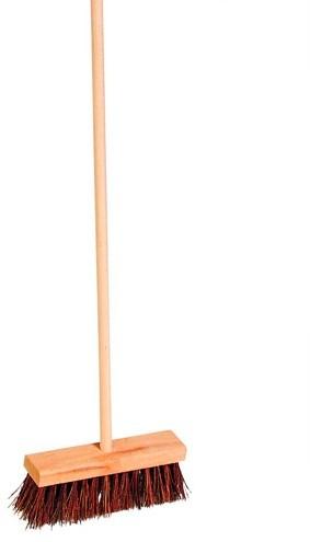 Goki Broom for children with natural bassine bristles