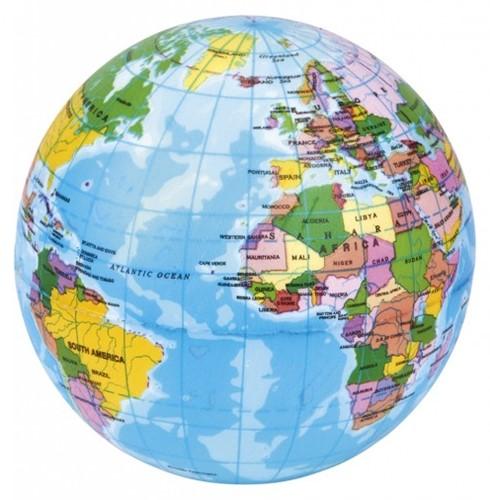 Moses Bal wereldbol 10 cm