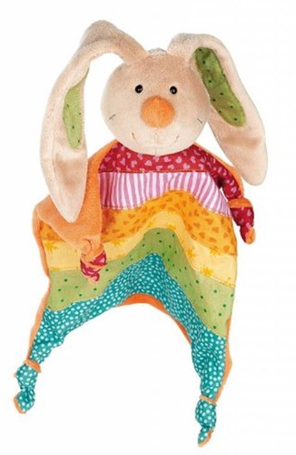 sigikid Comforter rabbit, Rainbow Rabbit