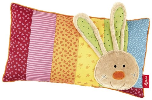 sigikid Cushion, Rainbow Rabbit