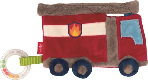 sigikid Activiteiten knuffeldoekje brandweer, PlayQ