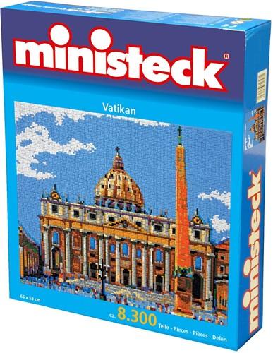Ministeck Vaticaan - 8500 stukjes
