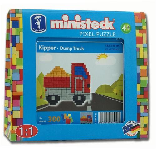 Ministeck Kiepwagen - 300 stukjes