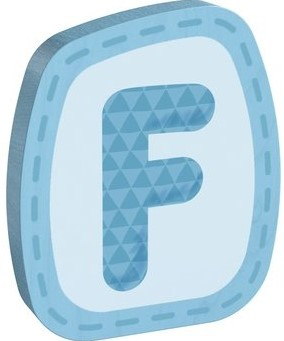 HABA Wooden letter F
