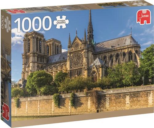 Premium Collection Notre Dame Paris 1000 pcs Jigsaw puzzle 1000 pc(s)