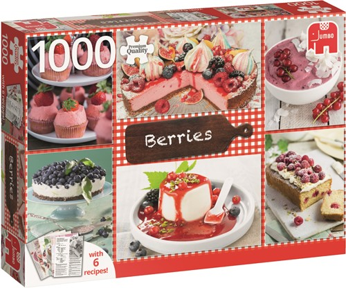 Premium Collection Berries 1000 pcs Jigsaw puzzle 1000 pc(s)