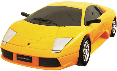 Eureka 3D Puzzle Car - Lamborghini Murciélago - 1:32 - yellow****