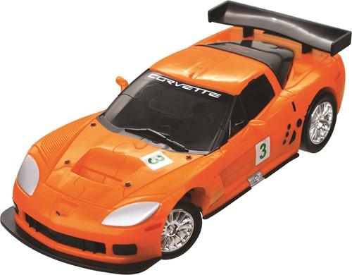 Eureka 3D Puzzle Car - Corvette C6R - 1:32 - orange***