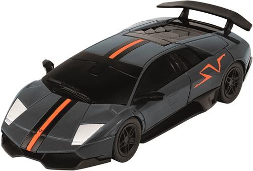 Eureka 3D Puzzle Car - Lamborghini LP 670 - 1:43 - carbon grey**