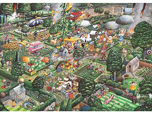 Gibsons puzzle I Love Gardening - 1000 pieces