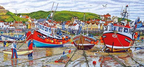 Gibsons puzzle Seagulls at Staithes - 636 pieces