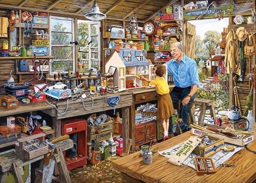 Gibsons puzzle Granddad's Workshop - 1000 pieces