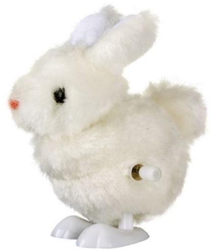 Planet Happy  kleinspeelgoed Mini konijn opwindbaar