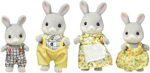 Sylvanian Families Cottontail Rabbit Family  4030