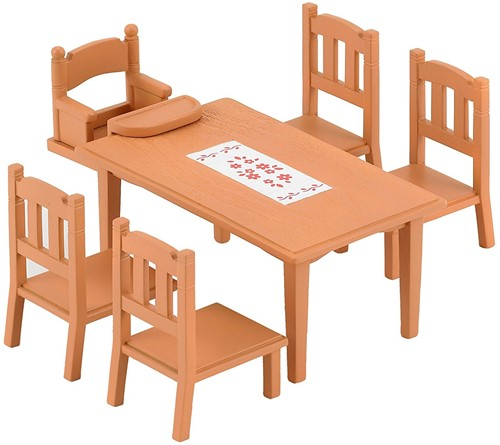 Sylvanian Families Family Table and Chairs 4506