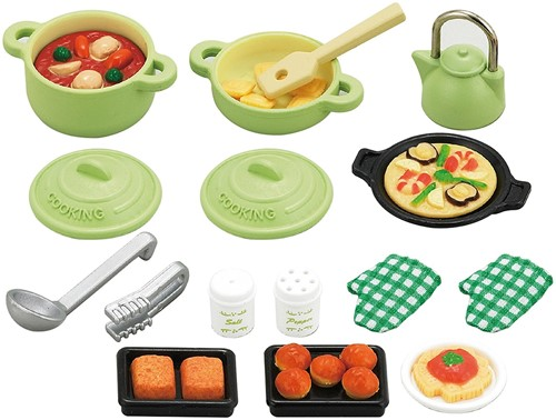 Sylvanian Families Kitchen Cooking Set 5028