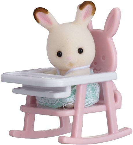 Sylvanian Families Baby Carry Case (Rabbit on Baby Chair)