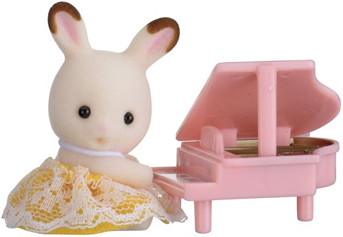 Sylvanian Families Baby Carry Case (Rabbit with Piano)